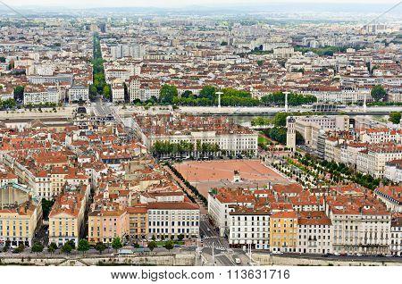 Bellecour District, Lyon, France