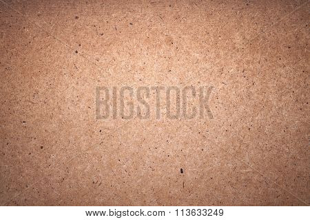 Rough Cardboard Sheet Closeup Background Texture