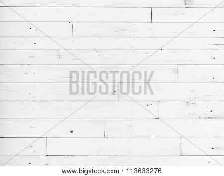 White Wooden Wall, Detailed Background Texture