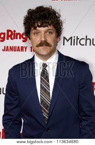 Dan Gill at the Los Angeles premiere of