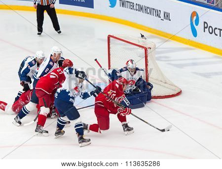 A. Korolyov (42) Attack The Gate