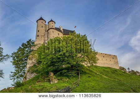Bobolice castle.Poland.