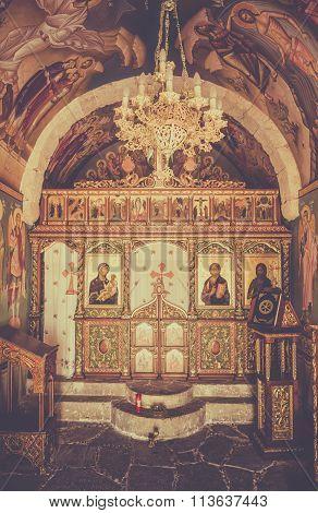 Greek Orthodox Chapel Interior