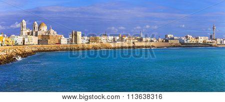 panoramic view of Cadiz - Andalusia, Spain