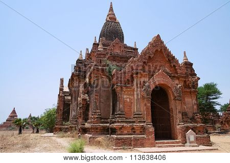 Ancient Buddhist Temple In Bagan