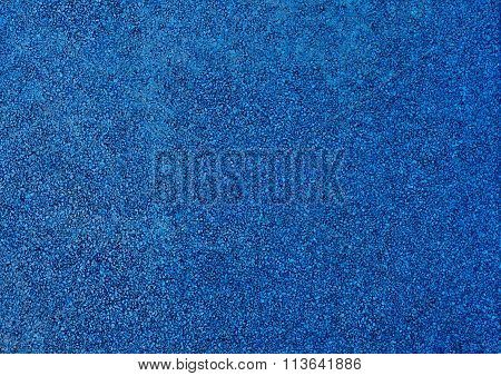 Horizontal Texture Of Blue Tarmac Floor Texture Background