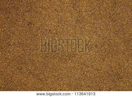 Horizontal Texture Of Golden Brown Tarmac Floor Texture Background
