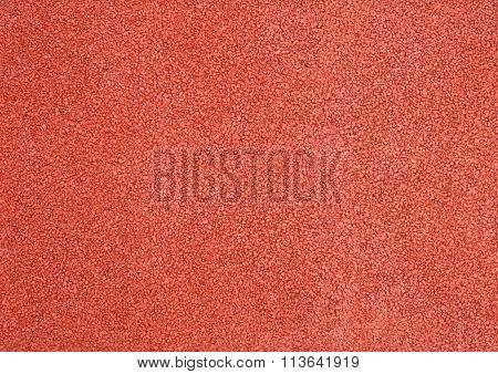 Horizontal Texture Of Orange Tarmac Floor Texture Background