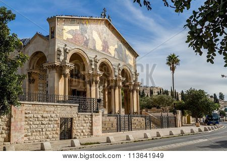 Church Of All Nations, Jerusalem