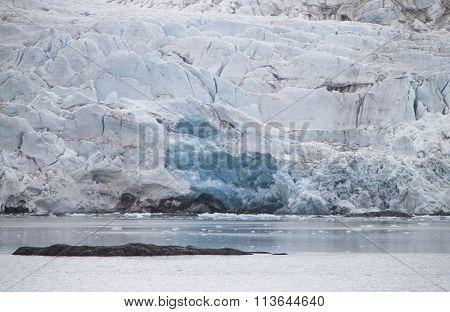 Glacier At Spitzbergen