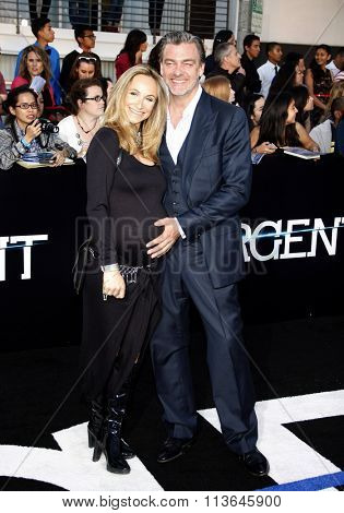 Ray Stevenson at the Los Angeles premiere of