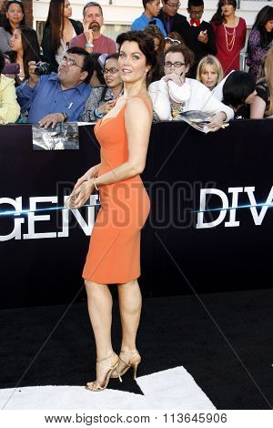 Bellamy Young at the Los Angeles premiere of