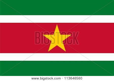 Standard Proportions For Suriname Flag