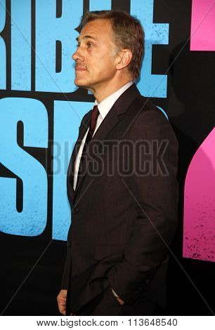 Christoph Waltz at the Los Angeles premiere of