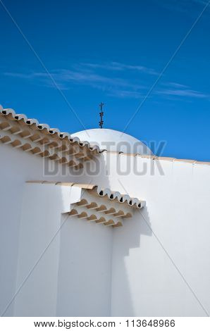 Architectural detail of church of St. Anthony in Portugal