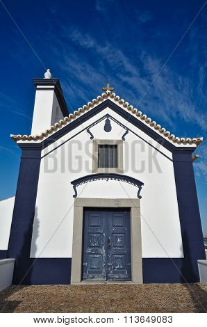 Facade of church of St. Anthony in Portugal
