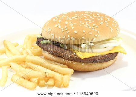 Cheese Burger Hamburger