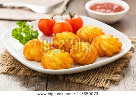 Pommes Duchesse - Potato Croquettes