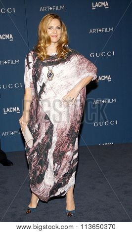 Drew Barrymore at the LACMA 2013 Art + Film Gala Honoring Martin Scorsese And David Hockney Presented By Gucci held at the LACMA in Los Angeles, USA on November 2, 2013.