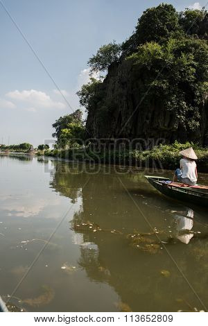 Tourist on Travel Boat