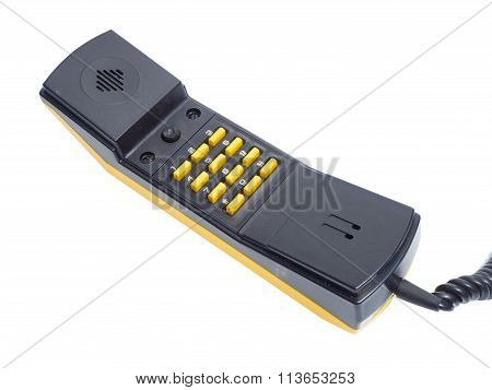Handset With Buttons Numbers