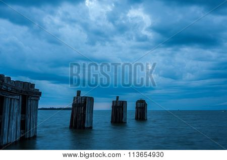 Stormy Skies on the Chesapeake Bay