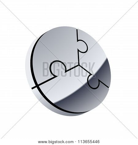 Design Logo. Stock Illustration.