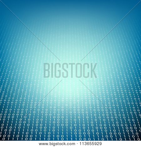 Technology Background. Stock Illustration.