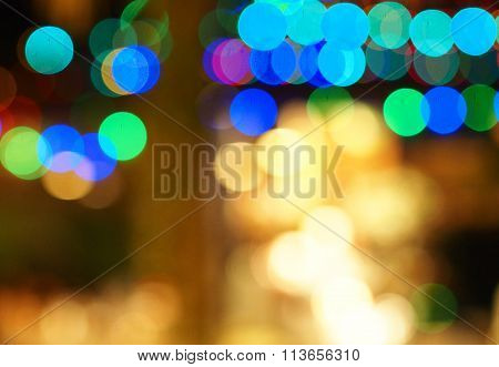Bokeh background for background