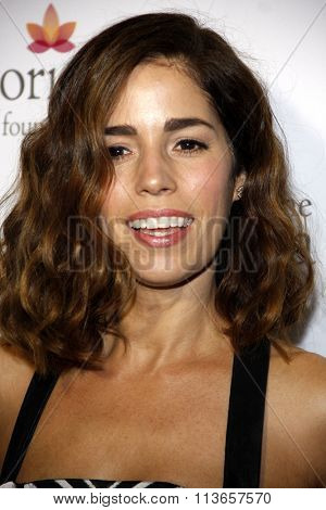 Ana Ortiz at the Eva Longoria Foundation Dinner  held at the Beso in Los Angeles, USA on October 9, 2014.