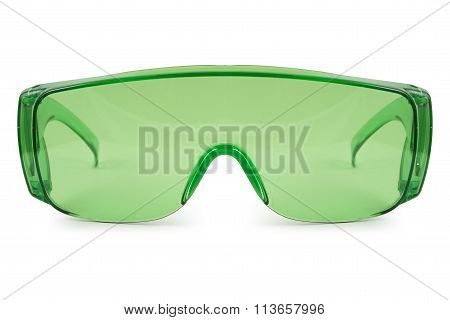 Safety Green Glasses