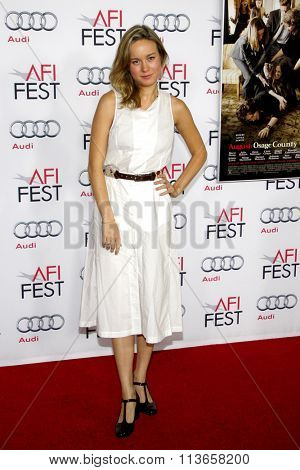 Brie Larson at the AFI Fest 2013 Gala Screening of