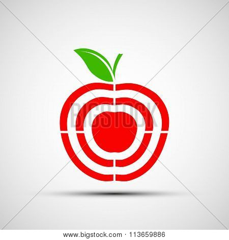 Target. Stock Illustration.
