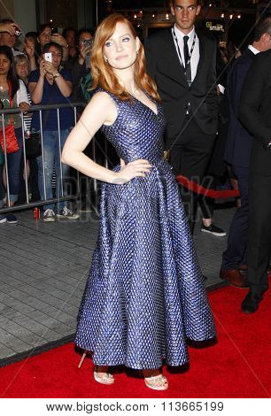Jessica Chastain at the AFI FEST 2014 Opening Night Gala Premiere of