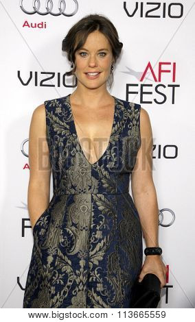 Ashley Williams at the AFI FEST 2014 Opening Night Gala Premiere of
