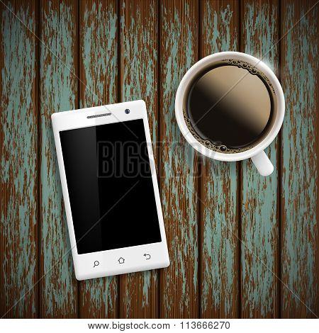 Smartphone. Stock Illustration.