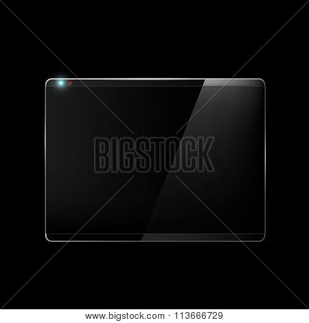 Touch Screen. Stock Illustration.