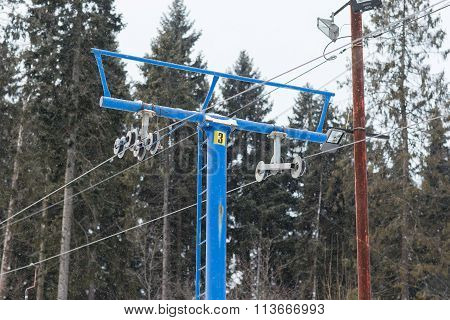 The Lift For Skiers