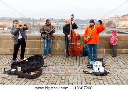 Prague. Charles Bridge.