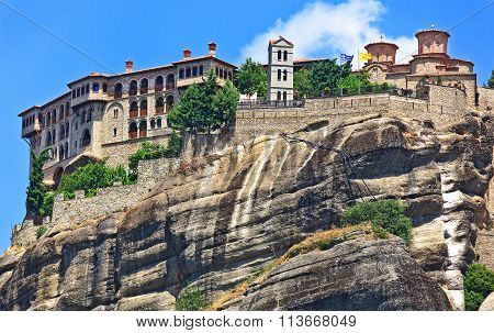 The Holy Monastery Of Great Meteoron. Kalambaka, Greece