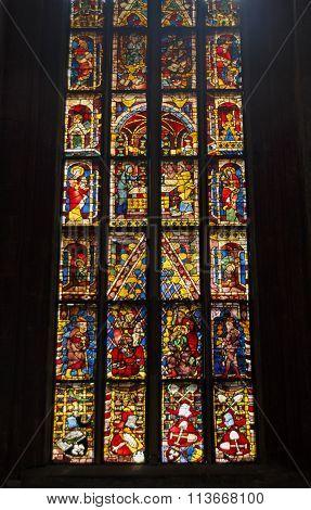 The St. Sebaldus Church (St. Sebald Sebalduskirche) is a medieval church in the inner city of Nuremberg and was built in the 13th century