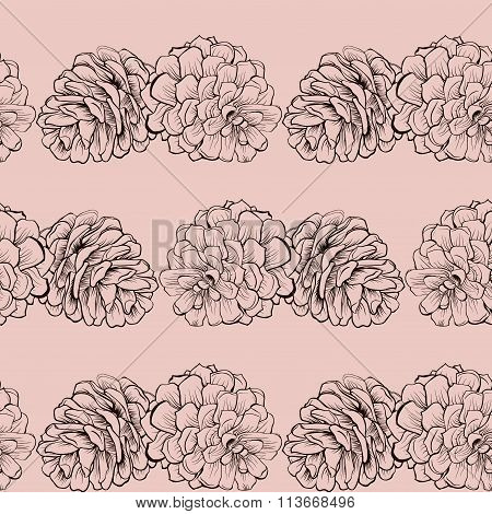 pine cone  Cristmas pattern