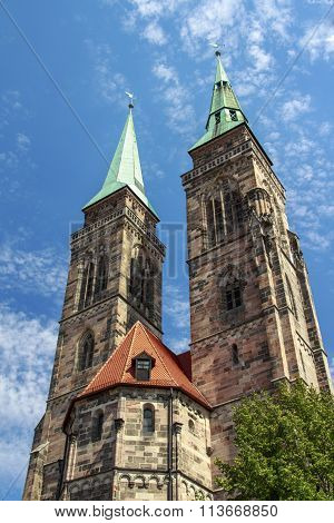 St. Sebaldus Church In Nuremberg, Germany, 2015