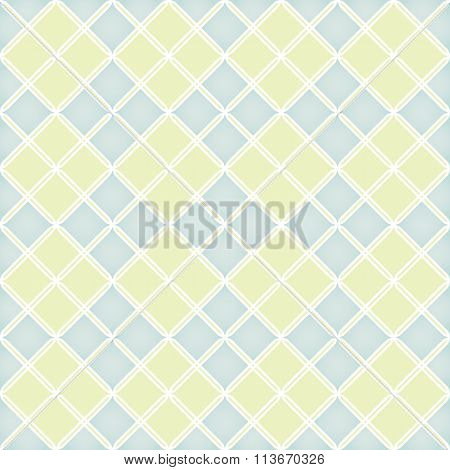 Geometric Pattern Quilted