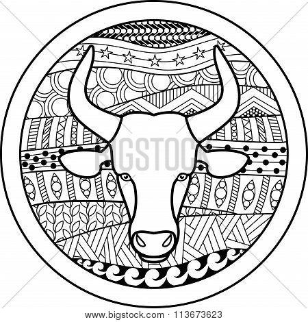 Zodiac sign Taurus
