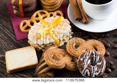Sweets for coffee break