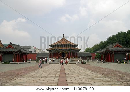 Shenyang gugong in Shenyang People's Republic of China