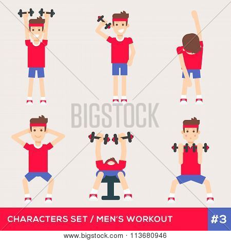 Fitness Characters 3