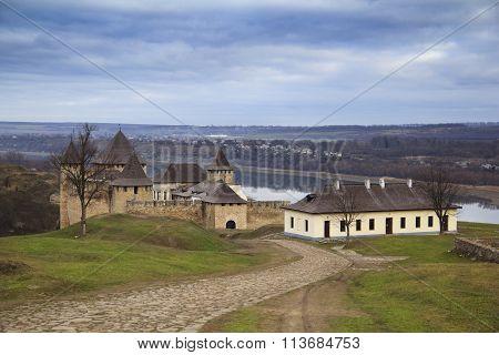 Hawtin Castle Landscpae