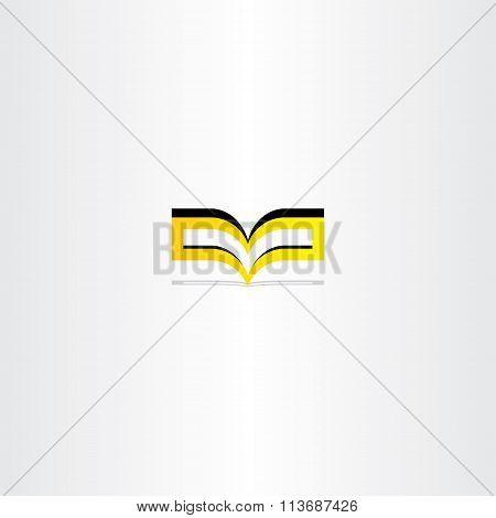 Yellow Book Logo Vector Icon